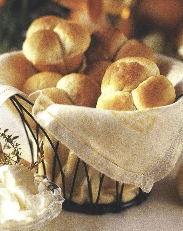 potato clover dinner rolls