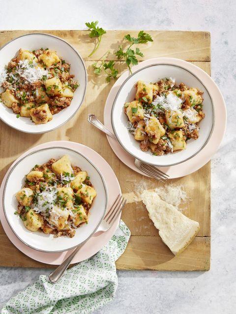 potato gnocchi pork ragù
