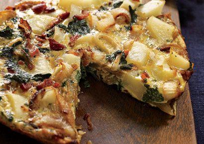 Potato and Greens Frittata