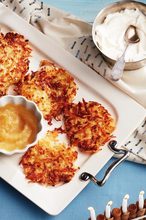 Potato Parsnip Latkes Recipe