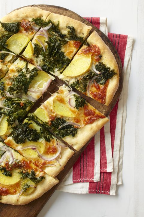 potato, red onion  kale pizza pick up