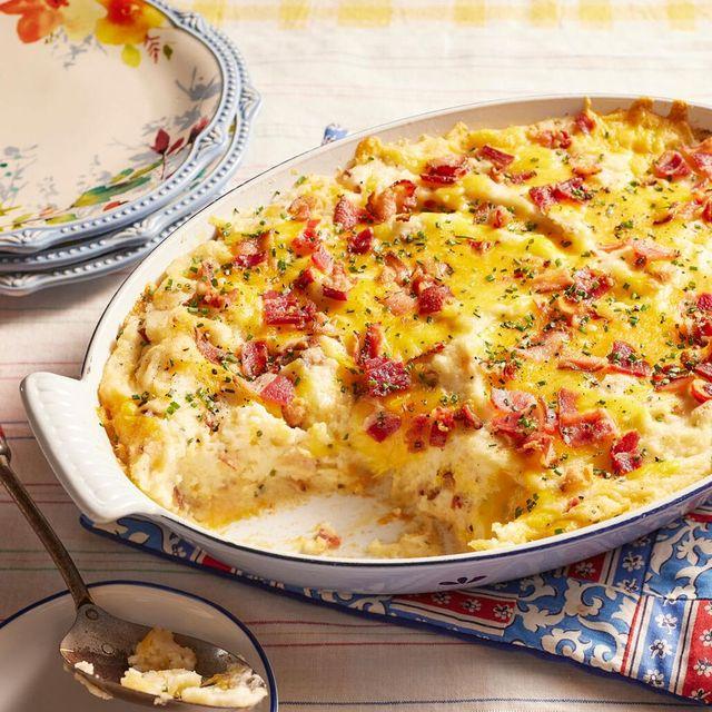 potato recipes potato casserole with bacon