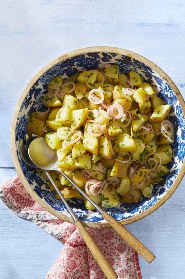 potato salad mustard vinaigrette recipe