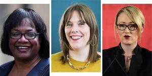 Labour leader candidates, Jess Phillips, Dianne Abbott,Rebecca Long-Bailey