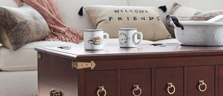 Pottery Barn Is Releasing A Friends Collection With An