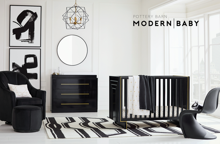 a peek at pottery barn kids s new line for babies you ll want it all. Black Bedroom Furniture Sets. Home Design Ideas
