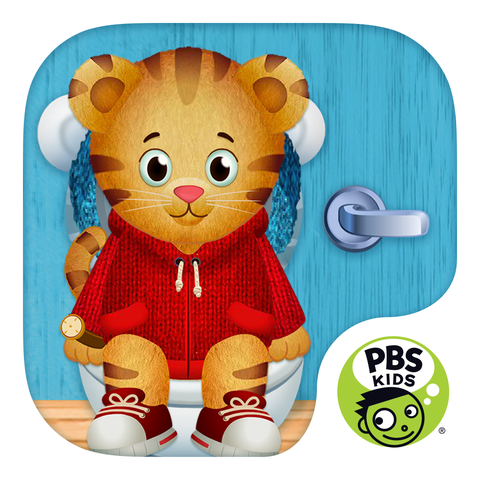 Potty Training Apps - Daniel Tiger's Stop and Go Potty