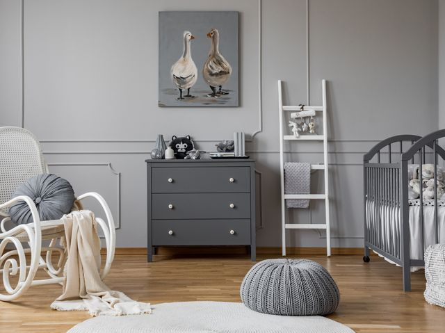 Grey Is Now The Best Ing Nursery Decor Colour