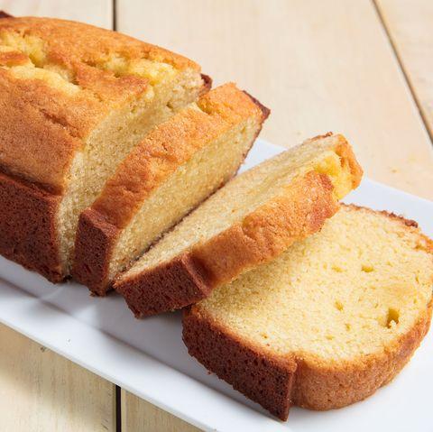 Pound cake horizontal