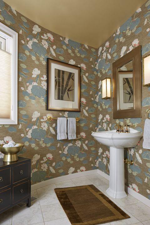 48 Stunning Powder Room Ideas HalfBath Decor Design Photos Fascinating Powder Bathroom Ideas