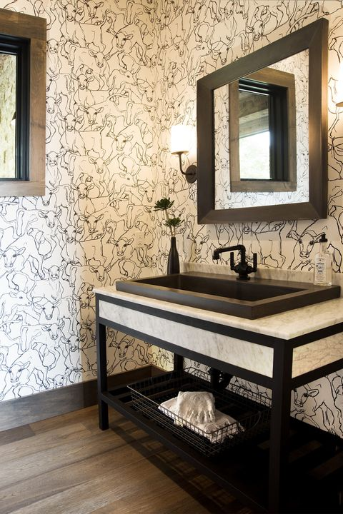 Room, Bathroom, Wall, Sink, Interior design, Tile, Furniture, Property, Floor, Table,