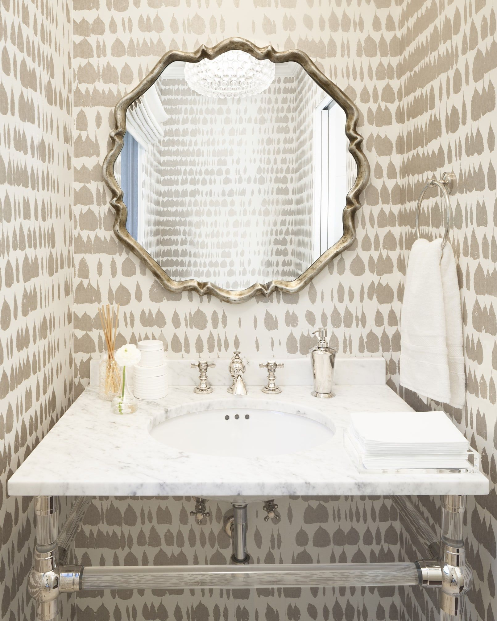 40 stunning powder room ideas half bath decor design photos rh elledecor com