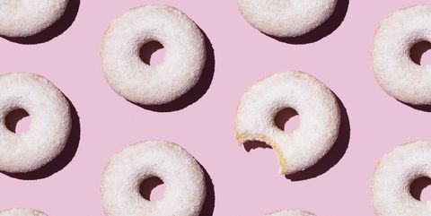 Powdered doughnuts