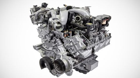 Ford Power Stroke diesel engine