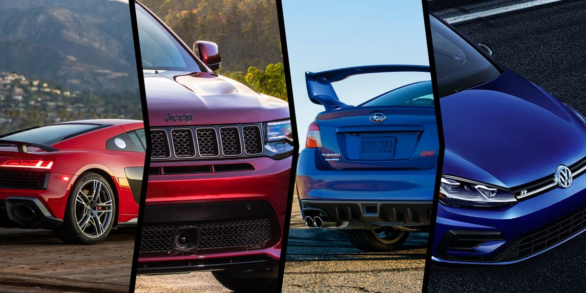 31 Cars That Lead Their Brands in Power-To-Weight