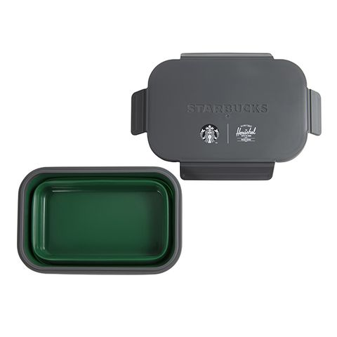 星巴克推出「折疊餐盒、全霧黑保溫杯」等限定商品