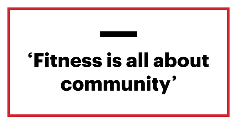 fitness is all about community
