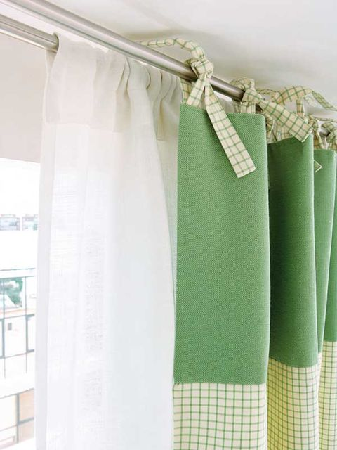 C mo hacer unas bonitas cortinas paso a paso para el sal n decorativas y f ciles - Como coser cortinas paso a paso ...