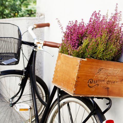 decorar con bicicletas reciclar bici
