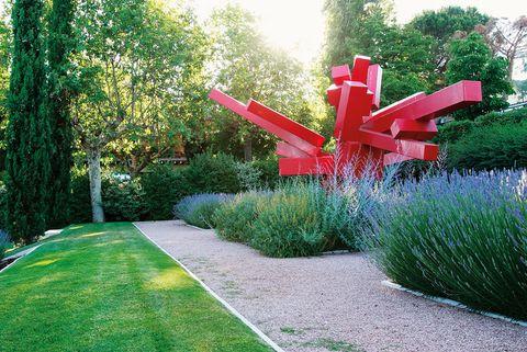 Jardines esculturales