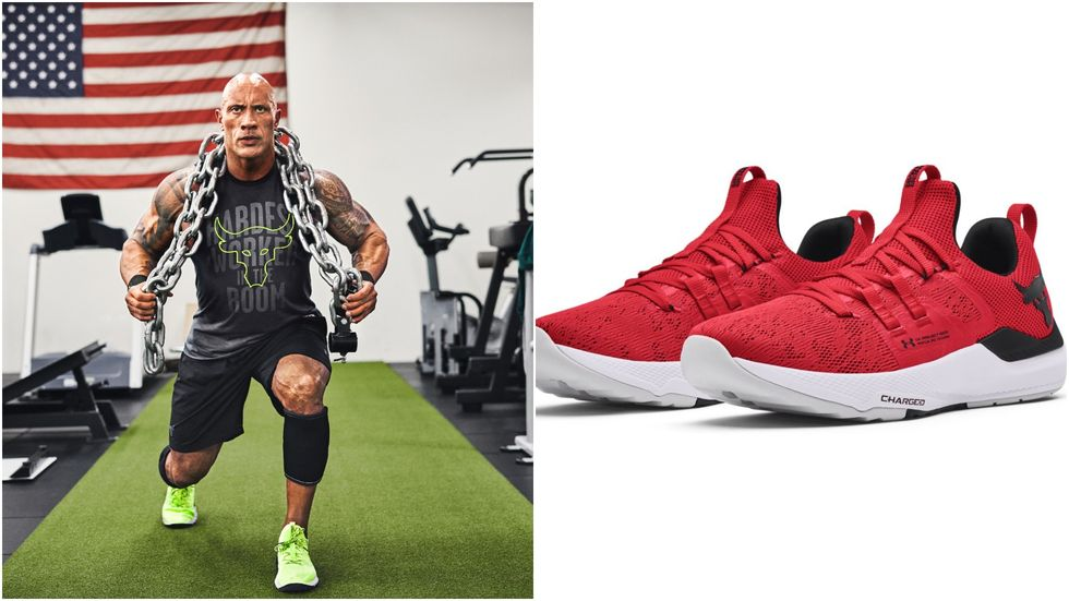 The Rock Just Dropped His Most Versatile Workout Shoes