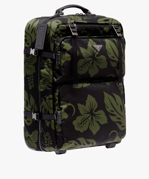 Bag, Backpack, Hand luggage, Green, Luggage and bags, Product, Baggage, Camouflage, Suitcase, Design,
