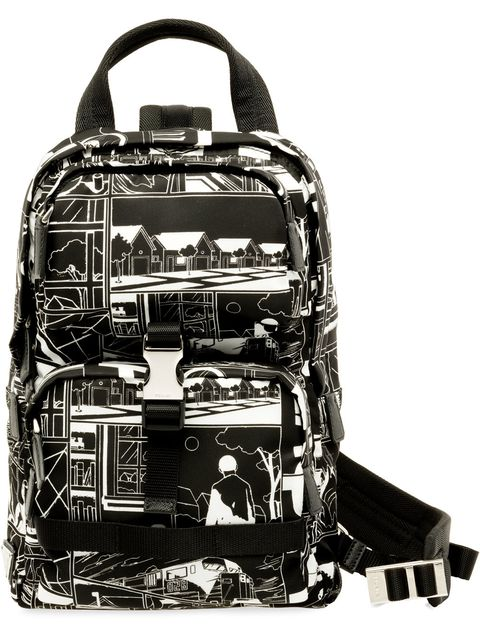 Bag, Luggage and bags, Backpack, Hand luggage, Handbag, Material property, Fashion accessory, Baggage, Black-and-white, Style,