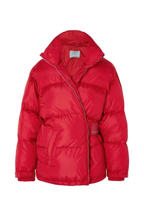 Clothing, Jacket, Outerwear, Hood, Red, Sleeve, Puffer, Magenta, Coat, Top,