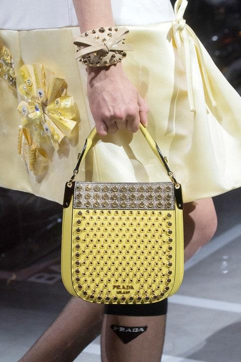 Bag, White, Handbag, Yellow, Fashion, Shoulder, Fashion accessory, Beige, Joint, Design,