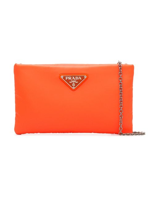 Orange, Red, Wallet, Handbag, Fashion accessory, Yellow, Bag, Coin purse, Rectangle, Leather,