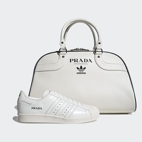 White, Bag, Handbag, Footwear, Product, Fashion accessory, Shoe, Font, Sneakers, Material property,