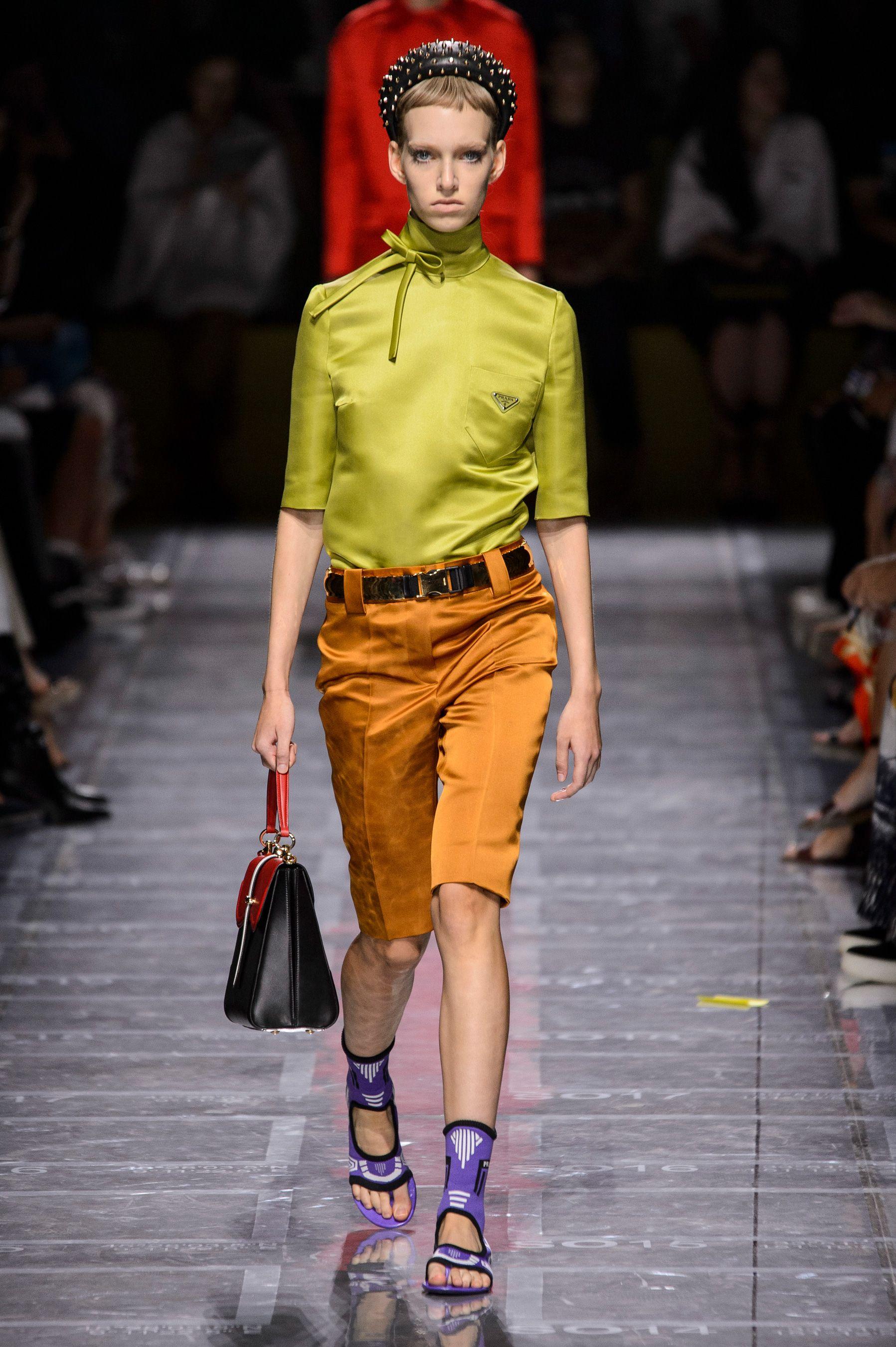Prada, Prada SS 19, MFW, MFW SS 19, MFW 2019, primavera estate 2019, Milano fashion week, Milano, Fashion week, real time women SS 19, sfilate