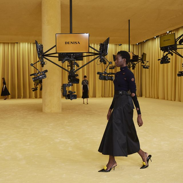 Prada Unveils First Collection By Miuccia Prada and Raf Simons