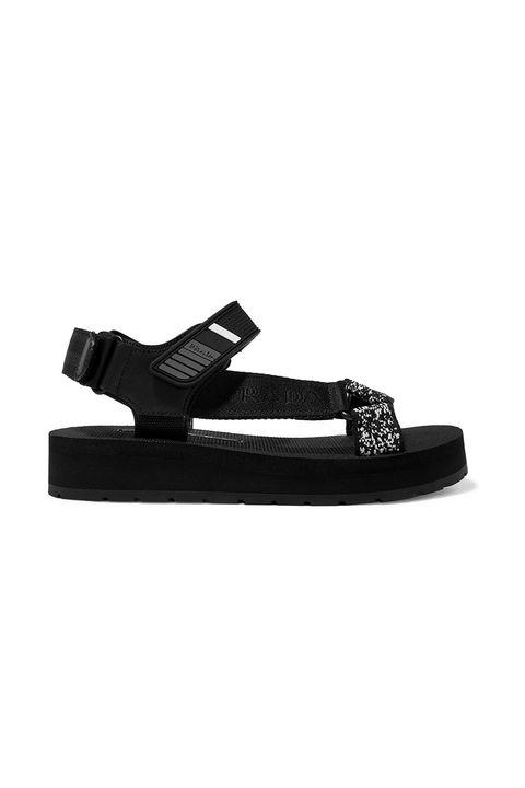 9c77c56ee best investment shoes - shoe trends. Prada canvas walking sandal