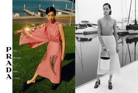 La moda 2020 inizia bene la stagione della primavera estate con una serie di foto campagne pubblicitarie dei brand iconici, tra modelle top e location da sogno.