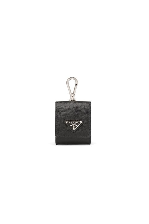 Prada Saffiano Trick earphone holder