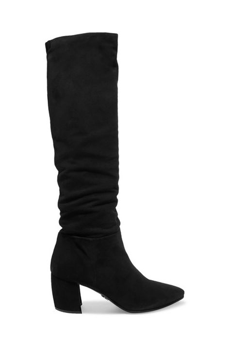 black knee high boots meghan markle remembrance day
