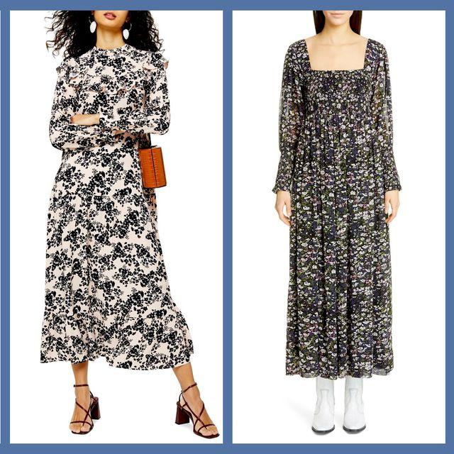 Clothing, Dress, Day dress, Fashion, Sleeve, Pattern, Pattern, Fashion model, Outerwear, Neck,