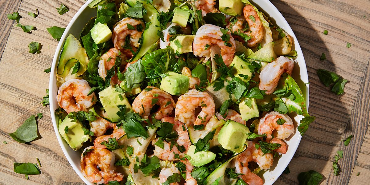 This Prawn Salad Takes 10 Minutes To Make, And Is So, So Delicious