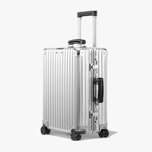 rimowa aluminum suit case