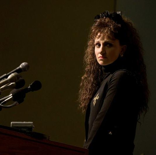 """impeachment american crime story """"exiles"""" episode 1 airs tuesday, september 7    pictured annaleigh ashford as paula jones cr tina thorpefx"""