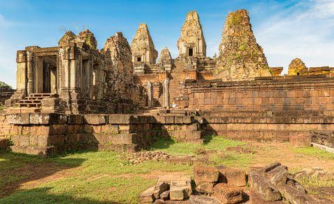 Pre Rup is a Hindu temple at Angkor, Cambodia