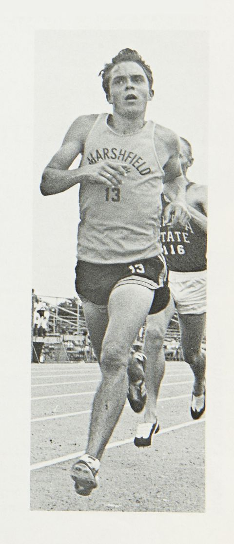 Pre History Steve Prefontaine college freshman photo