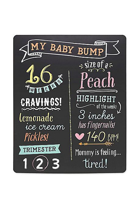 Mom To Be Gifts Pregnancy Chalkboard