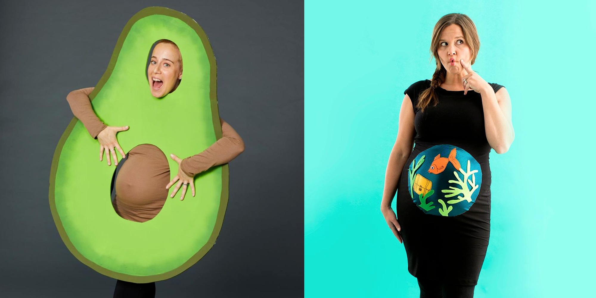 35 Best Pregnant Halloween Costumes 2020 Diy Maternity Costume Ideas For Women