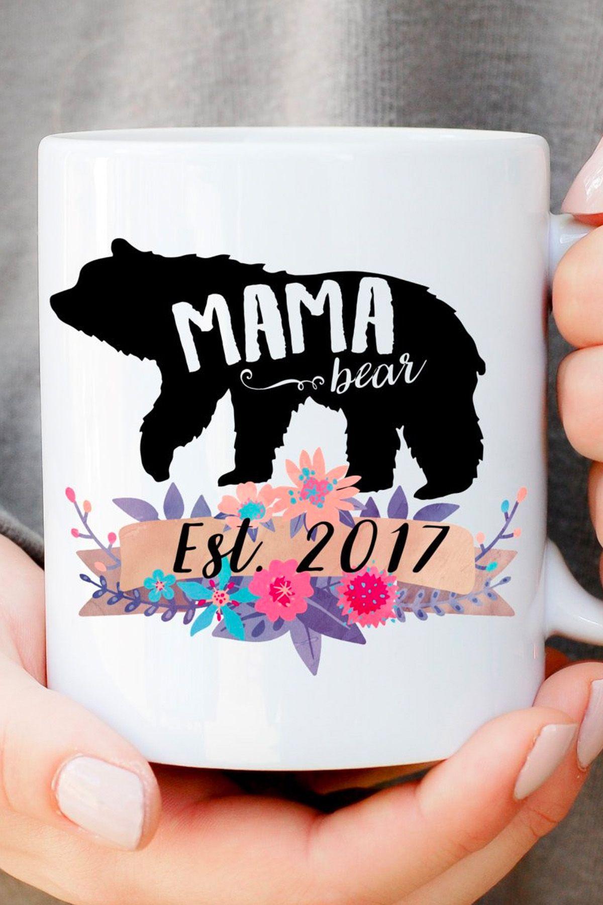 pregnancy gifts mama bear mug