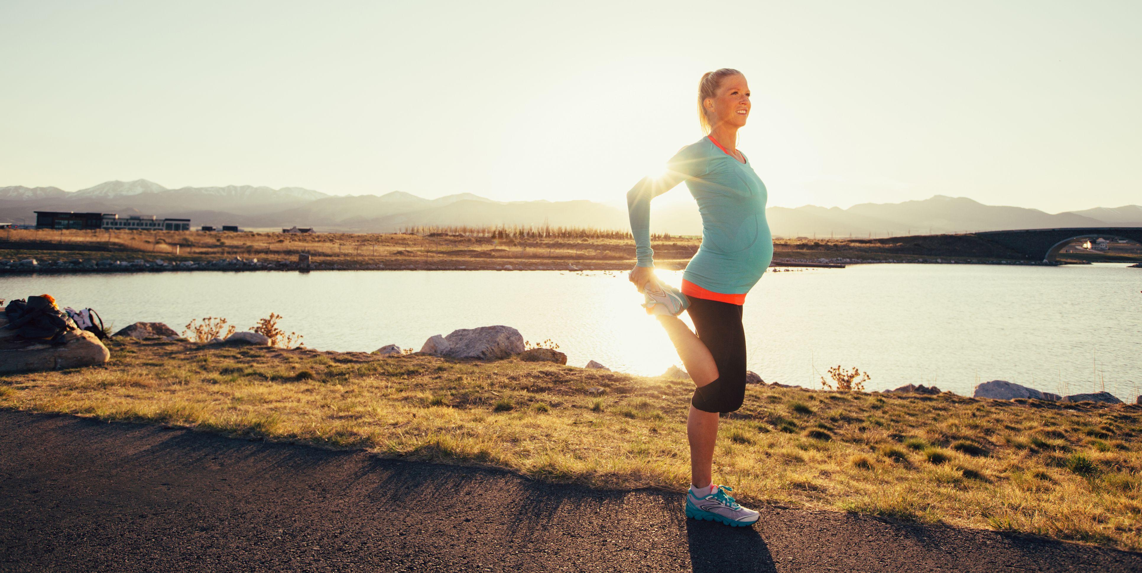 Correr en el embarazo, ¿hasta qué semana se puede?