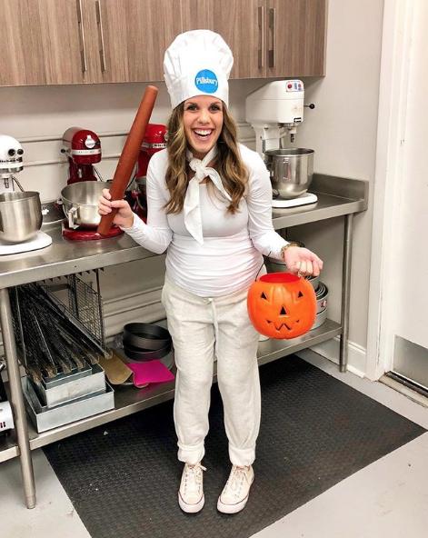 pregnant halloween costume pillsbury dough boy