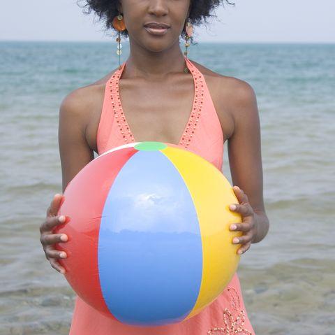pregnant halloween costumes beach ball