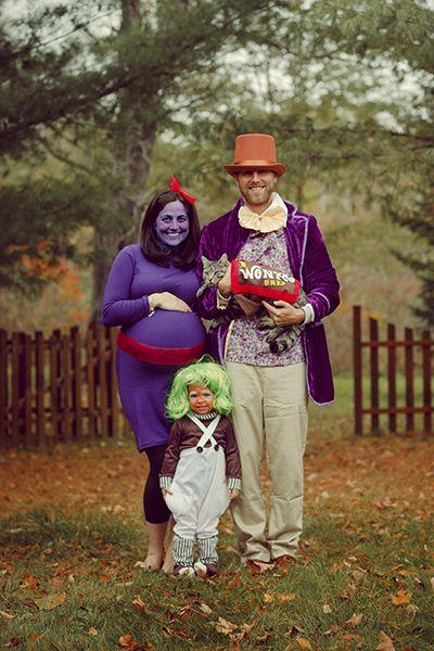 Pregnant Halloween Costumes - Violet Beauregard